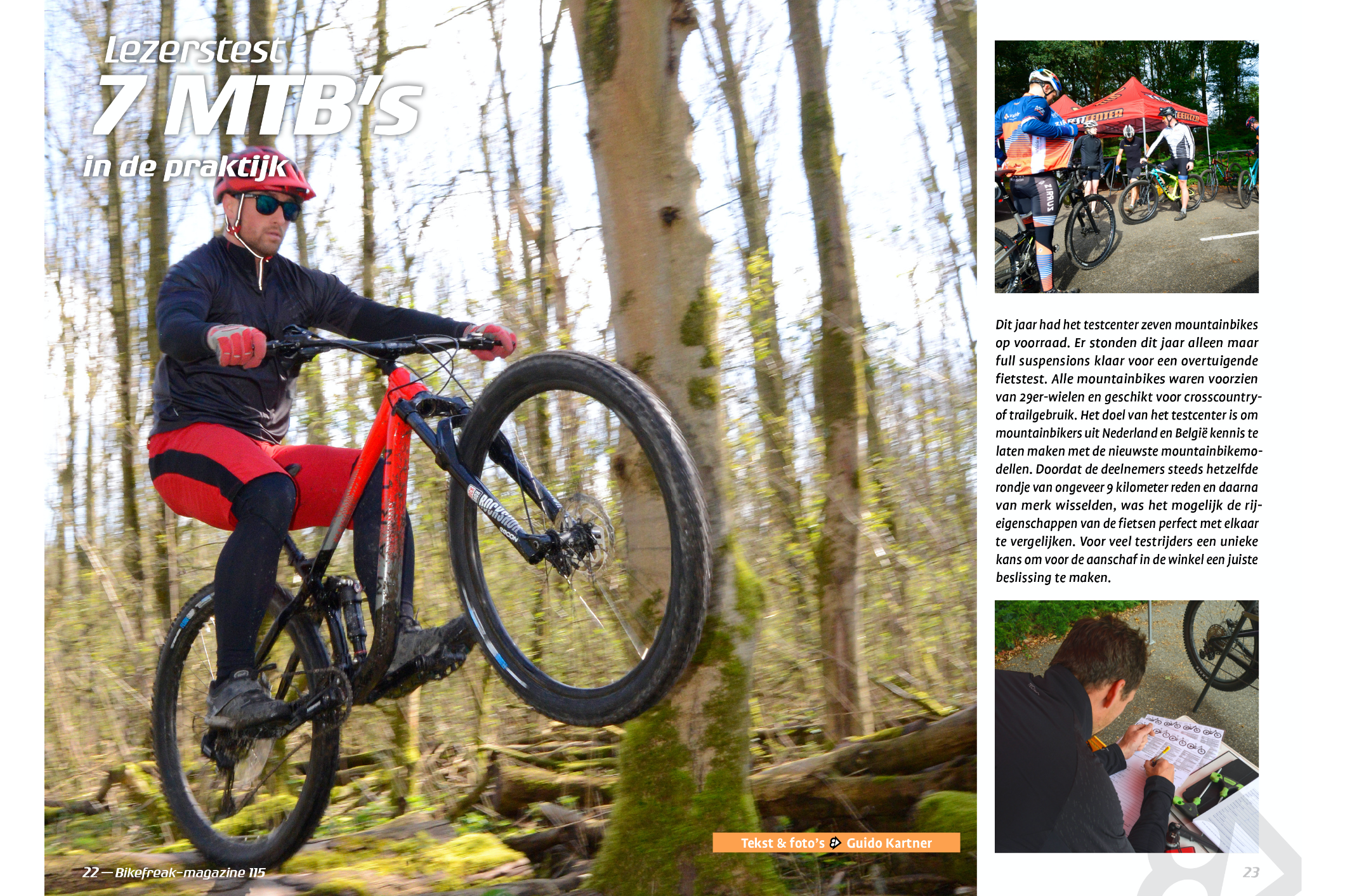 Lezerstest Bikefreak Magazine | Part Cycling